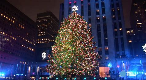 New York Christmas Tree 2017 Best Template Idea
