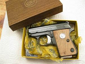 Colt Jr  25 Acp New In Box Made In Usa For Sale