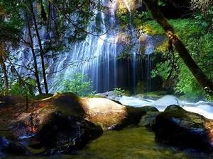 Beautiful Landscape Waterfall Free Wallpaper #8666 ...