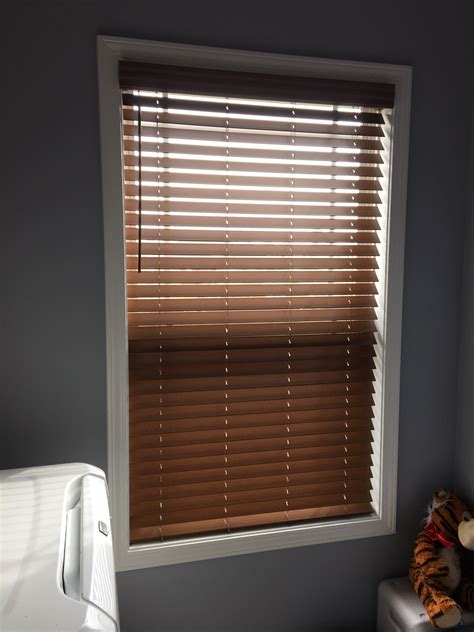 cordless wood blinds installed  clarksville