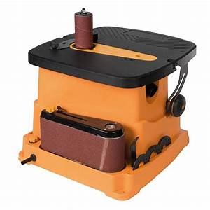 Ponceuse A Bande : ponceuse bande et cylindre oscillant triton tspst450 ~ Premium-room.com Idées de Décoration
