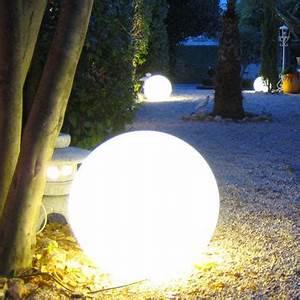 Eclairage Exterieur Castorama : eclairage allee de jardin avec boule lumineuse ~ Carolinahurricanesstore.com Idées de Décoration