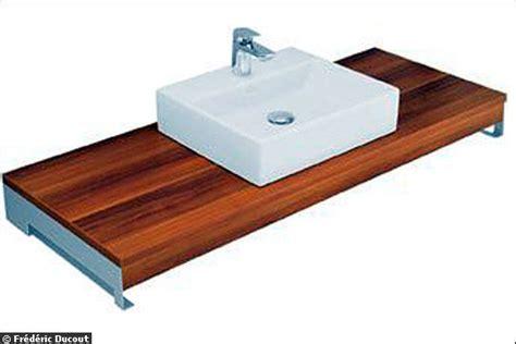 l alternative le plan avec vasque 224 poser en c 233 ramique une salle de bains chic sous les