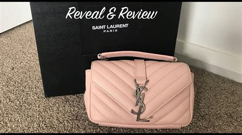ysl mini monogram bag reveal review  fits