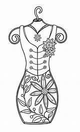 Steampunk Digi Mini Coloring Adult Stamps Bearywishes Designs Digital Colouring Form Corset Doodle Printable Template Patterns Ladies Patrol Stamp Metal sketch template