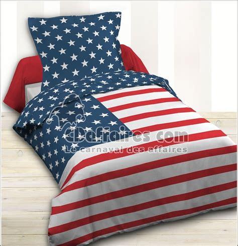 housse couette drapeau americain