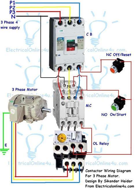 stop start wiring diagram  air compressor  overload google search corne pinterest