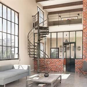 escalier les modeles d39escaliers prets a monter cote With maison avec escalier exterieur 4 un escalier en colimacon des idees pour relooker votre