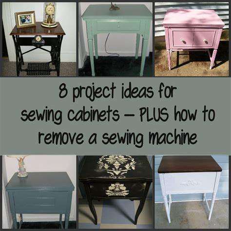 sewing cabinet projects  repurposed life