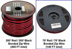 Installgear 14 Gauge Awg 100ft Speaker Wire Cable  U2013 Red