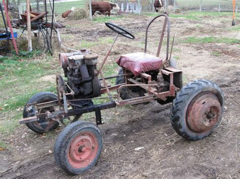 homemade tractor homemade tractor attached thumbnails excavator