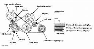 1993 Isuzu Trooper Serpentine Belt Routing And Timing Belt