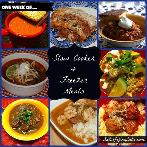 40 cooker meals 40 slow cooker freezer meals