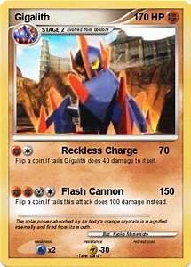 Pokémon Gigalith 77 77 - Reckless Charge - My Pokemon Card