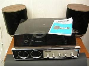 Panasonic Music Center Record Player W   Speakers Manual