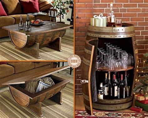 si e de bar recycled wine barrels diy repurposed wine barrels ideas