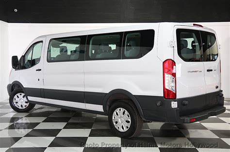 ford transit wagon 2015 used ford transit wagon t 150 130 quot low roof xlt swing