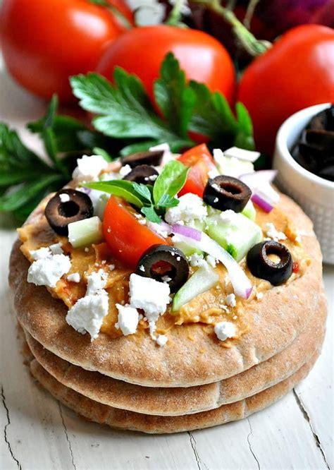 Mediterranean Pita Bites - The Seasoned Mom