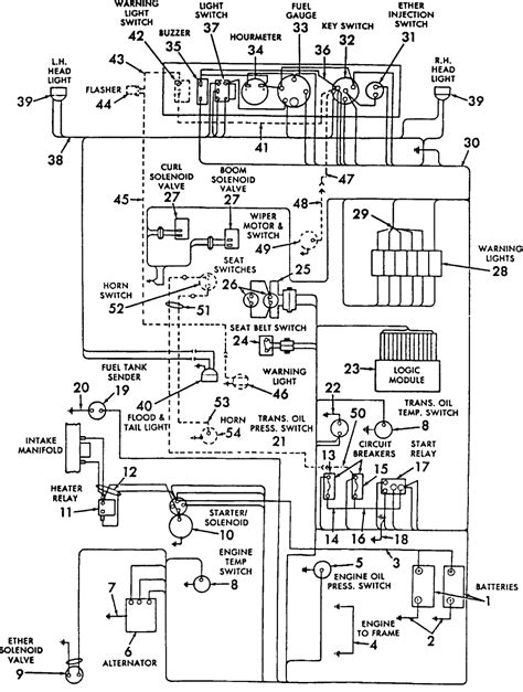 Ford 5030 Wiring Diagram by Ford 4630 Electrical Diagram Auto Electrical Wiring Diagram