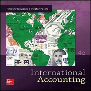 Test Bank For International Accounting 4th Edition By