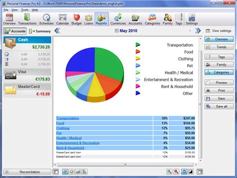 personal finance chart top best 5 personal finance software 39 s for windows 7 8 1