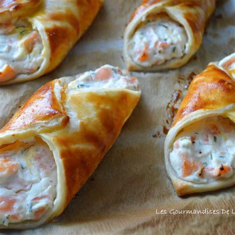 recette feuilletes saumon  ricotta
