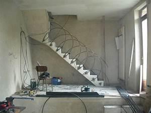 rambarde d escalier Frederic Eripret