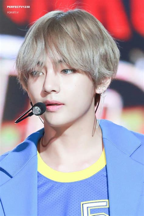 Bts Taehyung's Dna Hair  Gifs And Hd Pics Included  Kpop Korean Hair And Style