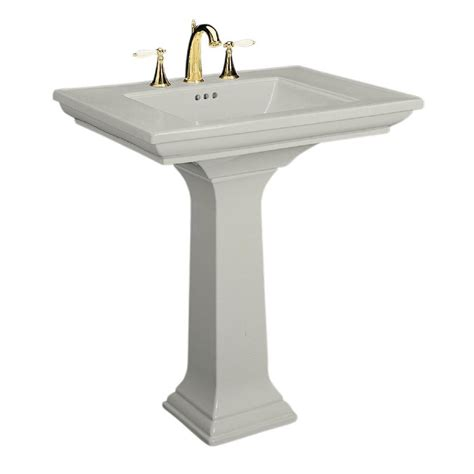 Kohler Bathroom Pedestal Sinks by Kohler Memoirs Ceramic Pedestal Combo Bathroom Sink In