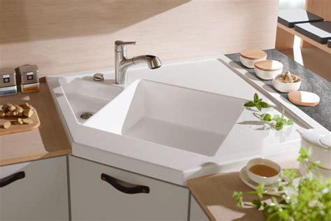 lavelli cucina ad angolo lavello ad angolo componenti cucina lavandino angolare