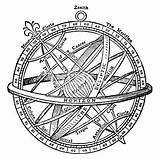 Sphere Armillary Tattoo Drawing Gyroscope Clip Illustrations Ancient Sextant Vector Compass Clipart Astronomy Necat Ultima Omnes Illustration Google Coloring Tattoos sketch template
