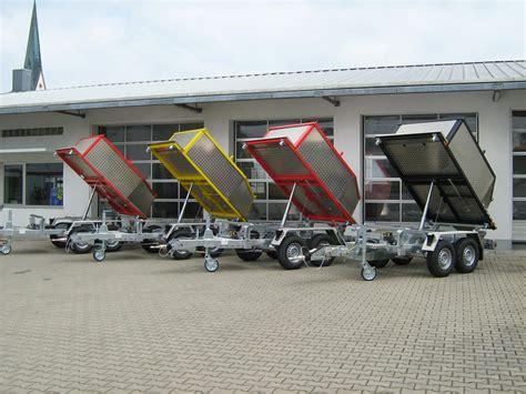 pkw anhänger gebraucht kipper schmid fahrzeugbau