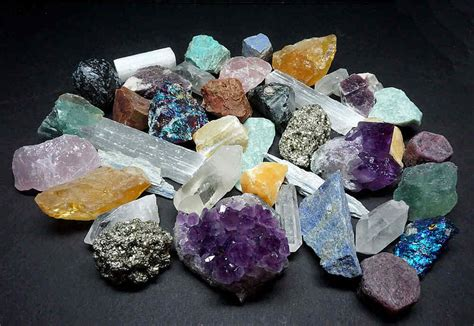 Rock Collection 5 Lbs Large Crystals Mix Minerals Specimens Ebay