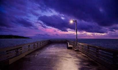 4k Dock Sky 5k Wallpapers Ocean Evening