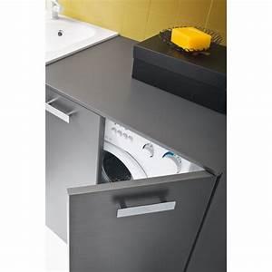 Waschmaschinenschrank Mit Tür : waschmaschinenschrank f r badm bel der serie atlantic arredaclick ~ Sanjose-hotels-ca.com Haus und Dekorationen