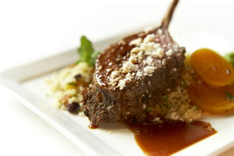easter recipe moroccan rack  lamb culinary capers