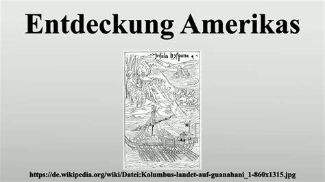 Entdeckung Amerikas - YouTube