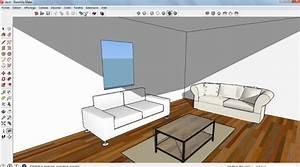 Logiciel Plan Maison Sketchup : chambre a coucher sketchup ~ Premium-room.com Idées de Décoration