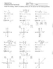 notes discovery activity graphing rational functions and