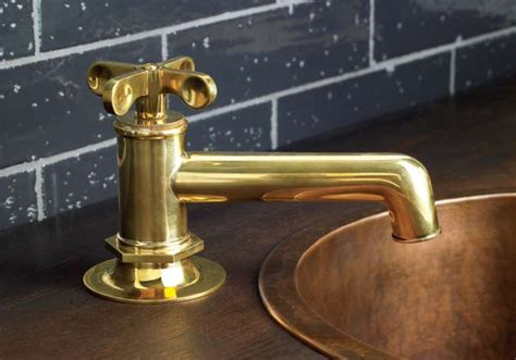 Waterworks Brass Kitchen Faucets by Waterworks Offerings Traditional Bathroom Faucets And