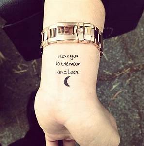 100 Cute Examples Of Tattoos For Girls | Wrist tattoo ...