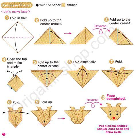 origami noel facile kit origami 15x15 cm