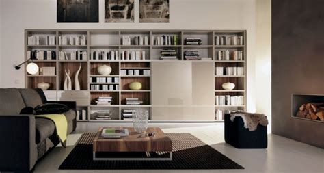 modern home library interior design 15 ideas para decorar tu sala con libreros