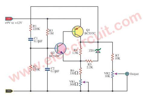 Sine Wave Oscillator Low Frequency Constant Amplitude