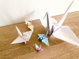 Origami Kranich Anleitung : origami kranich mobile phil in wien ~ Frokenaadalensverden.com Haus und Dekorationen