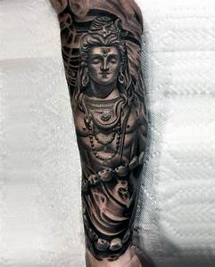 60 Shiva Tattoo Designs For Men - Hinduism Ink Ideas