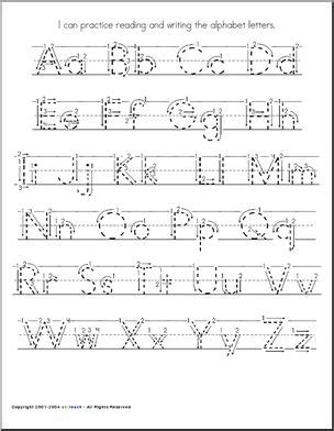 handwriting letter dotted practice google search