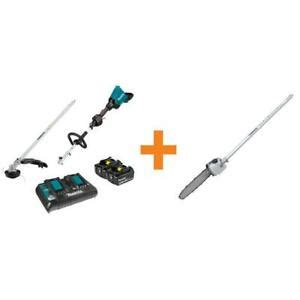 makita   couple shaft power head kit  trimmer attachment  pole   ebay
