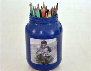 Idée Cadeau Avec Photo Faire Soi Meme : diy id e de cadeau f te des p res fabriquer soi m me comment faire un pot a crayon customis ~ Farleysfitness.com Idées de Décoration