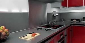 Profil De Finition Plan De Travail 38mm : plan de travail de cuisine emejing idees cuisine moderne ~ Dailycaller-alerts.com Idées de Décoration